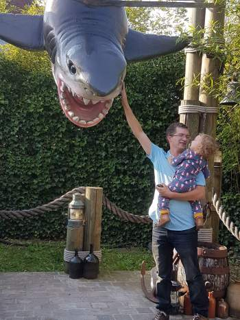 Een haai aaien?